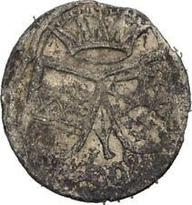 Einseitiger 2 Pfennig 1608 RDR Steiermark Graz Ferdinand II., Krone #VK102