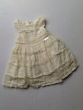 Mayoral Girls Cream Lace Dress Age 12 Months 80cm 1958