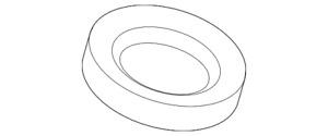 Genuine GM Spark Plug Tube Seal 12607600