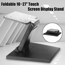 More details for tilt mounted foldable monitor holder pc lcd display screen desktop support stand
