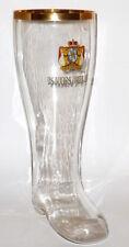 Alter großer 2L Kirner Pils Glasstiefel Glas Stiefel Bierglas Bierkrug Krug Kirn