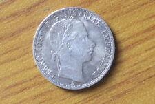 MONETA 1 FLORIN AUSTRIA FRANCESCO GIUSEPPE I 1859 ARGENTO SUBALPINA