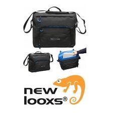 NEW LOOXS Sports Messenger Bag schwarz wasserdicht Einzeltasche Schultertasche