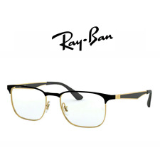 Computer Reading Glasses Ray Ban RB 6363 2890 54 18 145 Gold on Top Black Hoya L