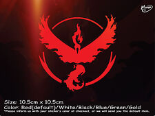 TEAM VALOR Reflective Funny Sticker Pokemon Go JD Car Ute 4x4 Decal  Best gift-