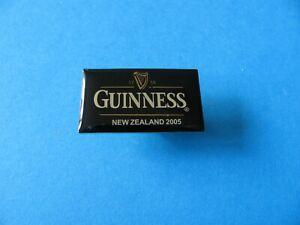 Guinness NEW ZEALAND 2005 Pin Badge. VGC Unused. Enamel.