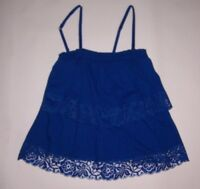 Hollister by Abercrombie Women's Rocky Point Royal Blue Cami Top Size S & M  NWT