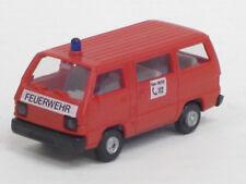 "Mitsubishi L 300 Bus ""Feuerwehr 112"", rot, o. OVP, Rietze, 1:87"