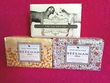 LOT OF BEEKMAN 1802 GOAT MILK SOAP
