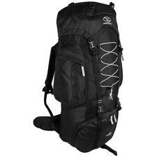 Highlander Rambler 88 Rucksack Trekking Hiking Travel Backpack 88L Black Silver
