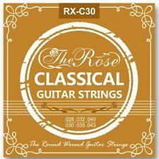 6x Gitarrensaiten Klassikgitarre Konzertgitarre Nylonsaiten Seiten Nylon - Rose