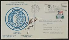 s972) Apollo 15 Launch KSC Jul 30, 1971 Autogramm hand signed Worden + Irwin