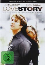 LOVE STORY   DVD NEU  RYAN O'NEAL/ALI MACGRAW/RAY MILLAND/+