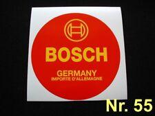 Aufkleber Bosch Batterie Mercedes W108 W110 W111 W112 W113W114/115 W120 W121
