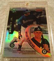 KEN GRIFFEY JR 1996 BOWMAN'S BEST MIRROR IMAGE REFRACTOR #7 VERY RARE MARINERS