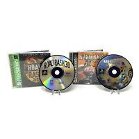 Road Rash: Jailbreak & 3D (Sony PlayStation 1 PS1, 2000) CIB Complete Tested