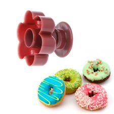 1PC Flower Shaped Donuts Maker DIY Mold Cake Desserts Bread Cutter Tool Baking