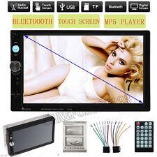 "Bluetooth Double 2Din 7"" Car MP3 MP5 Radio FM stéréo Autoradio USB TF AUX-IN"