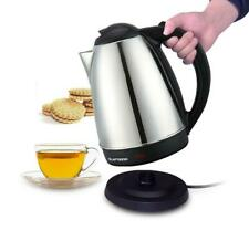 Stainless Steel 1.8 Litre 2000W Cordless Fast Boil Electric Kettle