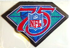 NFL NATIONAL FOOTBALL LEAGUE 75th ANNIVERSARY NFL PATCH Willabee Ward WORN 1994