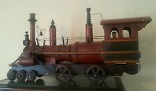 Display Steam Locomotive G Scale Gauge Train Railroad Toy Model RR General Rare1