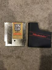 NES The Legend Of Zelda Gold Cartridge With Slipcase
