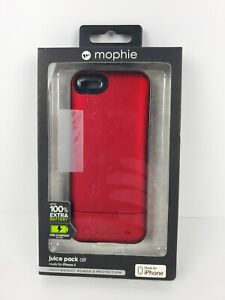 Red Mophie Juice Pack Air Wireless Battery Case For iPhone 5