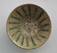 Antique Islamic Medieval 11th–13th Century Central Asia Bamiyan Ceramic Bowl