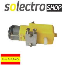 Motor 5V DC con reductora y soporte para Robot Smart Car Robotica Arduino R0041