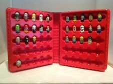 Lot 28 Rare Mighty Beanz With Series 2 Red Collector Case