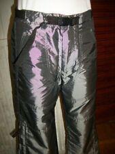 Pantalon polyester argent brillant FREEMAN T PORTER W31 38/40 multi poche n34
