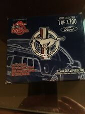 Racing Champions 1999 35th Anniversary 2 Die Cast Set 1 of 2700.  24 Carat Gold