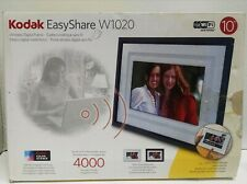 "Kodak EasyShare 10"" Digital Picture Frame W1020 Wi-Fi 400 Pics Music 512 MB NEW"