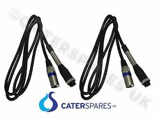 2 X POWER CABLE FOR DONER KEBAB CUTTER KNIFE EASYCUT ENIGMEX RITEPRICE UNIKUT