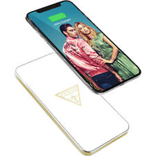 GUESS Wireless Charging Base for iPhone X iPhone 8 & 8 Plus, Samsung S9 & S8