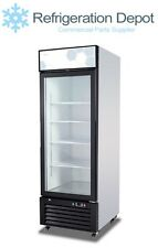 Migali C-23Rm-Hc - Glass Door Merchandiser - Single Door Refrigerator 23 cu/ft