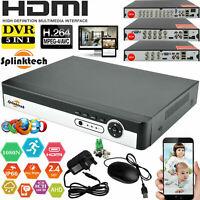 4/8/16 Smart CCTV DVR Channel AHD 1080N Video Recorder HD 720P VGA HDMI BNC NEW