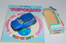 Fiat Punto Topolino Disney Comic Book N. 1983 1:43 Bburago Italy Limited Edition