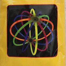 "Multicolor 9"" Glow Lantern Ball Light Ornament Figurine - Lot of 2"