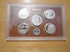 2013 S Clad Proof America The Beautiful Quarter Set  No Box or Coa
