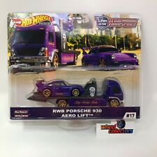 RWB Porsche 930 & Aero Lift * 2020 Hot Wheels Team Transport Car Culture Case G