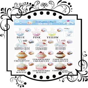 Cinnamoroll sweets squishy complete series
