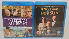 The Kids are Alright & Hyde Park On Hudson (Blu-ray, 2013) Brand New and Sealed