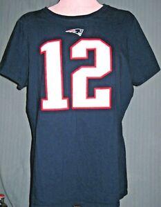 Tom Brady Youth XXL/Womens Small Football Jersey T-Shirt ( S Super Bowl 55 LV )