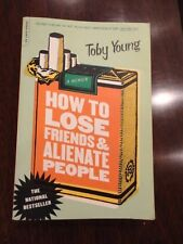 HOW TO LOSE FRIENDS AND ALIENATE PEOPLE by Toby Young Paperback 2001