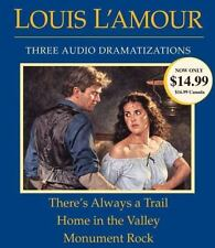 THERE'S ALWAYS A TRAIL / HOME IN THE VALLEY / MONUMENT ROCK - L'AMOUR, LOUIS - N
