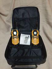 Pair of Motorola Talkabout Mt351R Weatherproof Two-Way Radios & Case (Parts?)