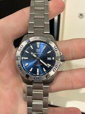 Tag Heuer Aquaracer Quartz Blue Swiss Men's Watch WBD1112.BA0928