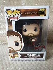 """Gladiatore Maximus 3.75/"""" POP Figura in vinile MOVIES FUNKO 857 Nuovo di Zecca"""
