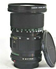 Canon New FD 35-105mm F/3.5 MF Lens Very Good Condition